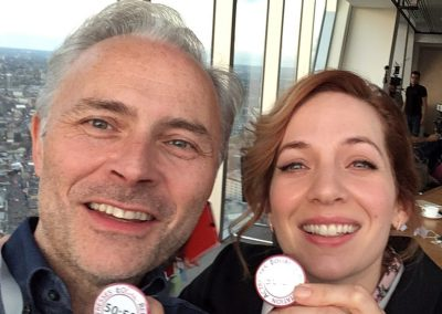 MARK BONNER AND KATHERINE PARKINSON
